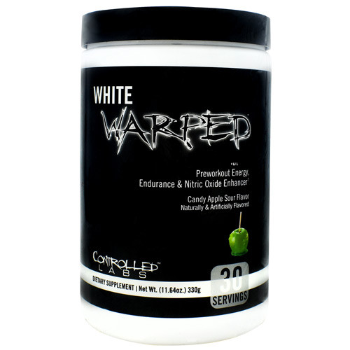 White Warped, Candy Apple Sour, 30 Servings (11.64 oz)