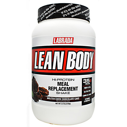 Lean Body, Molten Dark Chocolate Cake, 2.47 lb (1120 g)