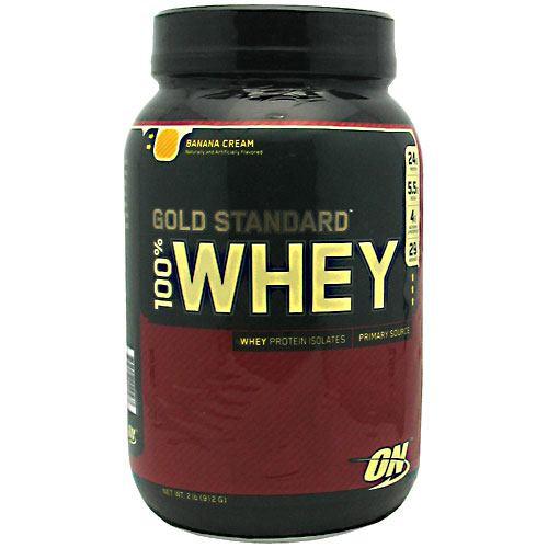 100% Whey, Banana Cream, 2 lb (912 g)