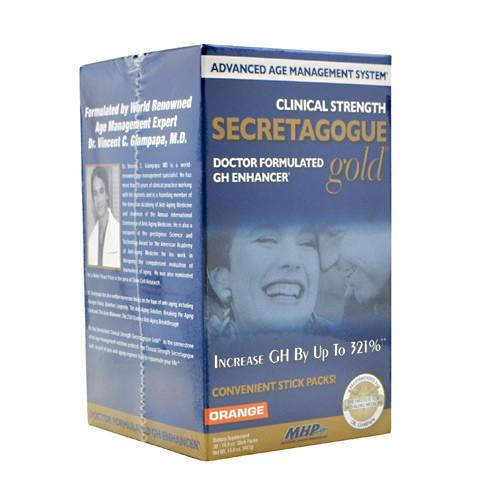 Secretagogue-gold, Orange, 30 packets [13.6 oz (390 g)]