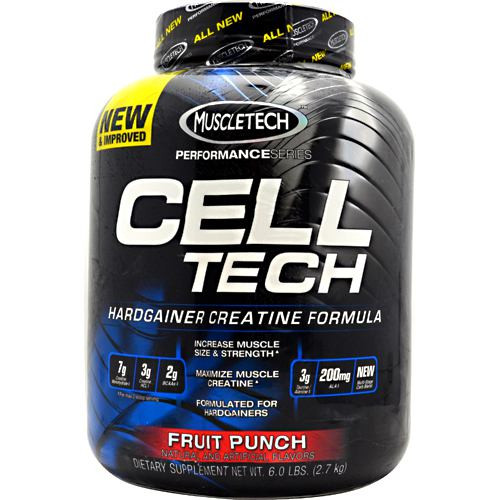 Cell-tech, Fruit Punch, 6.0 lbs (2.7 kg)