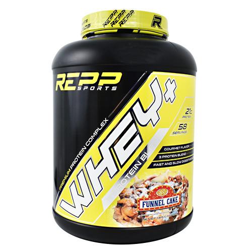 Whey + Premium Protein, Funnel Cake, 4 lbs. (1,815g)