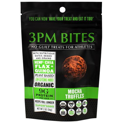 3pm Bites, Mocha Truffles, 6 - 2 oz Packets