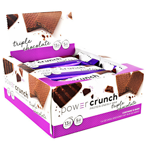 Power Crunch, Triple Chocolate, 12 (1.4 oz ) Bars