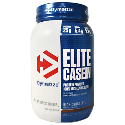 Elite Casein, Rich Chocolate, 2 lb (907 g)