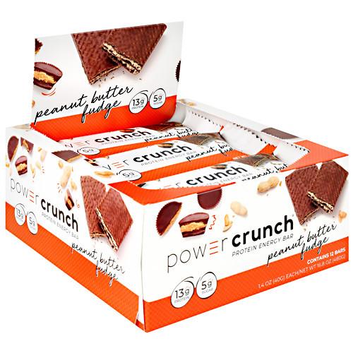Power Crunch, Peanut Butter Fudge, 12 (1.4 oz) Bars
