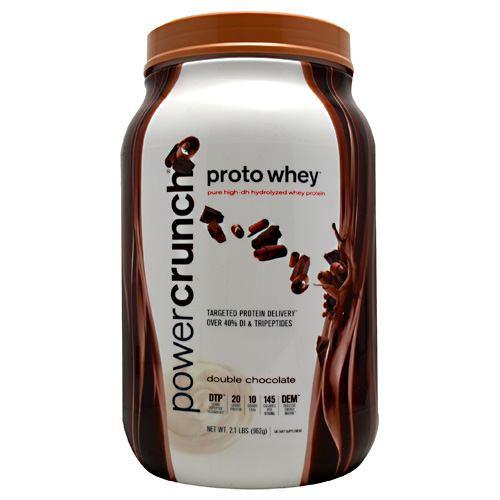 Power Crunch Proto Whey, Double Chocolate, 2.1 lbs (962g)