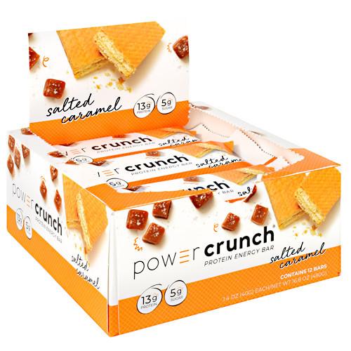Power Crunch, Salted Caramel, 12 (1.4 oz) Bars