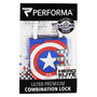 Combination Lock, Captain America, 1 Lock