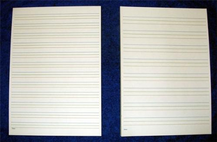 Coloured Line Writing Pads