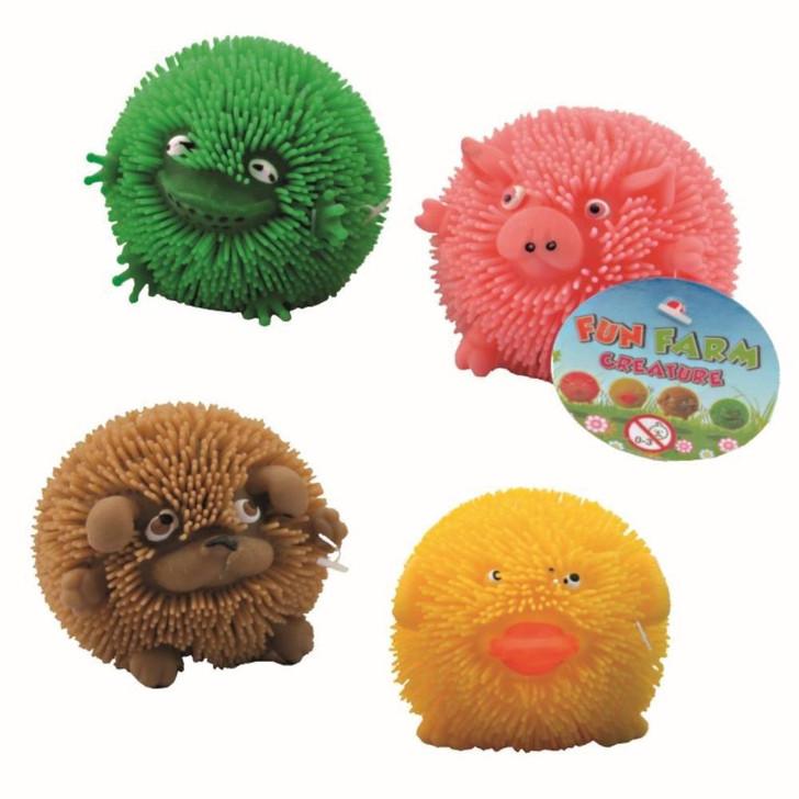 Fluffy Farm Puffer Ball