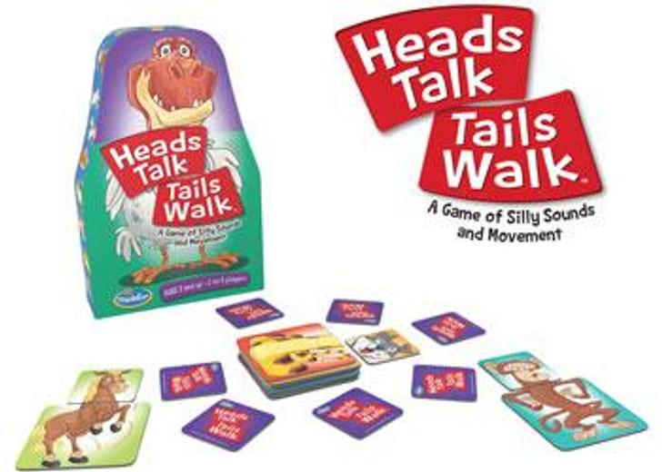 Heads Talk Tails Walk - ThinkFun Game