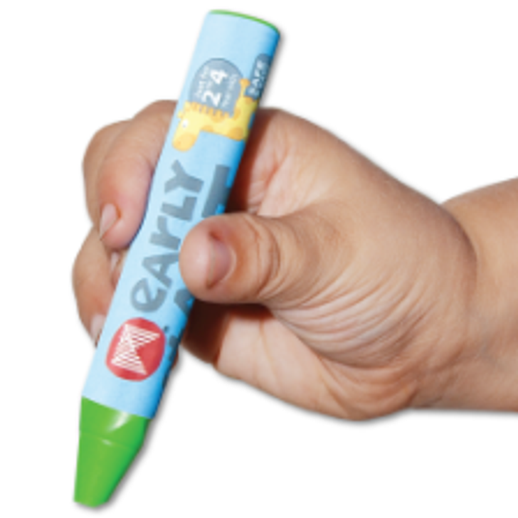 Micador Softies Tri-Grip Crayons