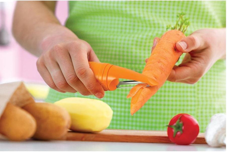 Carrot Peeler and Scrubber