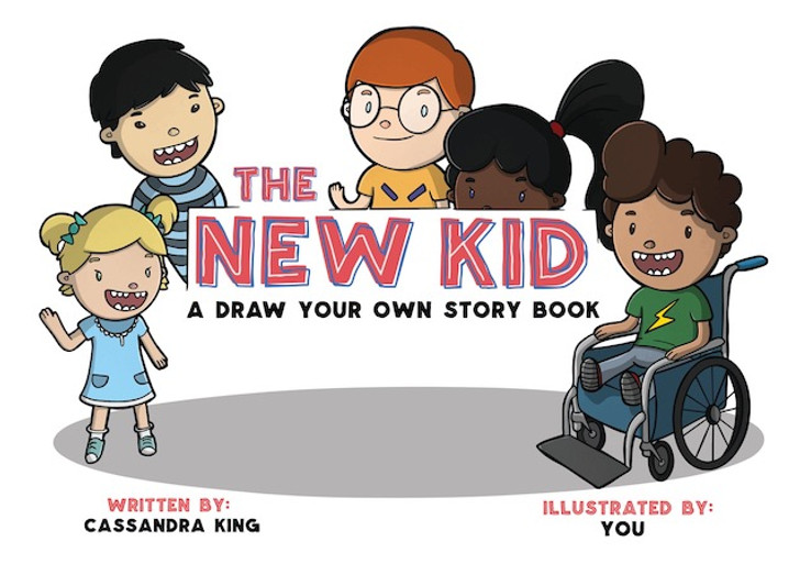 The New Kid - A Draw Your Own Story Book