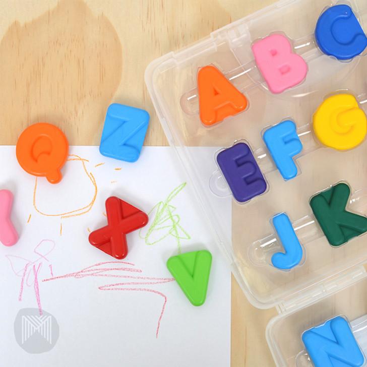 Micador Early Start Alphabet Crayons