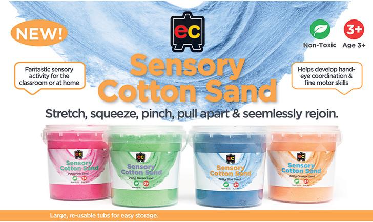 Cotton Sand Educational Colours
