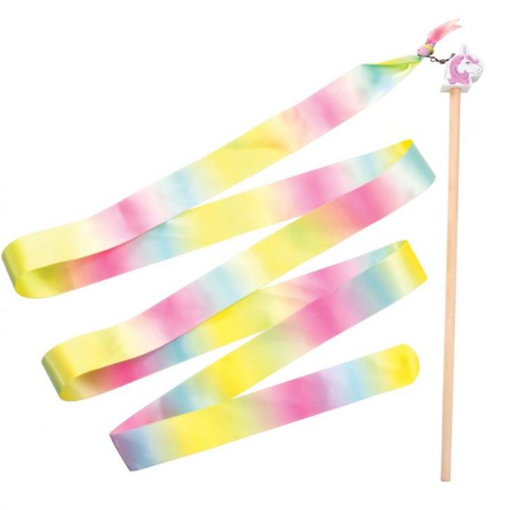 Unicorn Rainbow Ribbon Twirler
