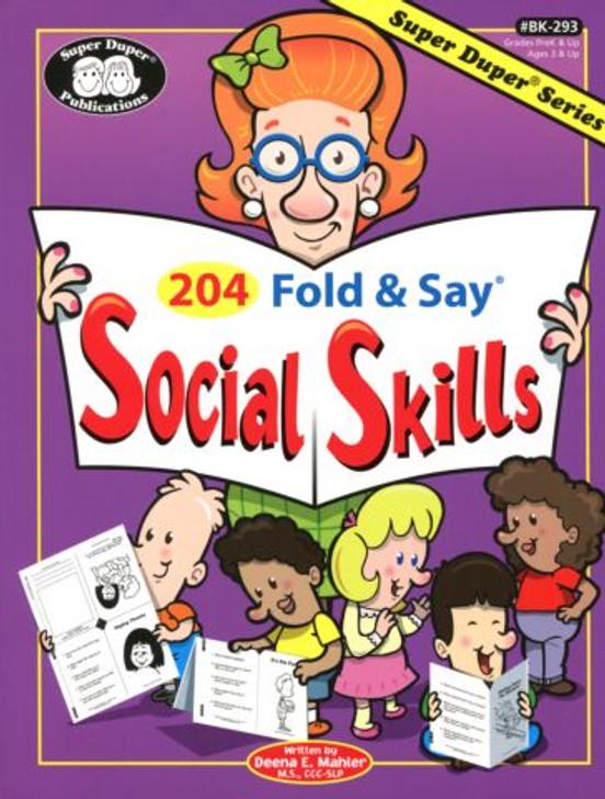 Fold and Say Social Skills