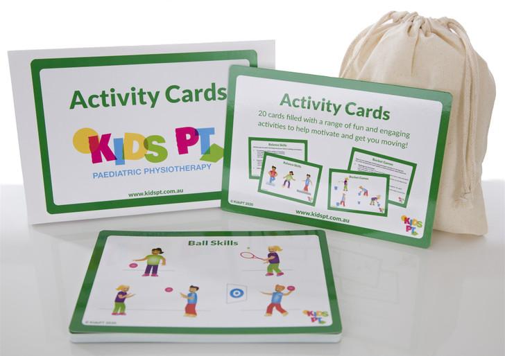 Kids PT Activity Cards
