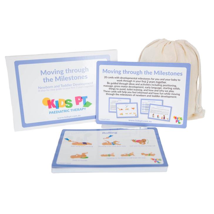 Kids PT - Moving Through The Milestones Cards