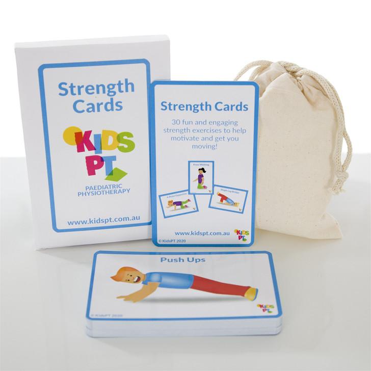 Kids PT Strength Cards