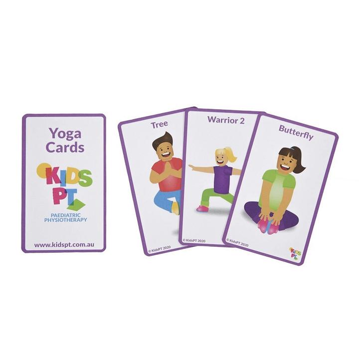 Kids PT Yoga Cards