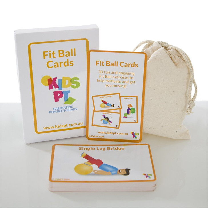 Fit Ball Cards