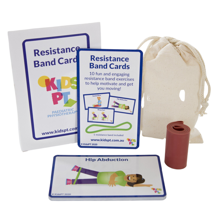 Resistance Band Cards - Light and Medium