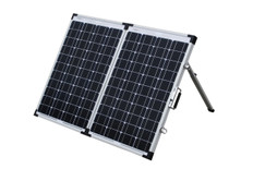 120 Watt Folding Solar Panel Kit
