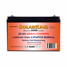 60AH Solarking Lithium Battery CB-60-24-40