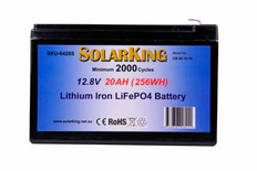 Solarking 12.8V 20AM Lithium Battery CB-20-12-10