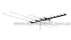 SatKing 15 Element Local TV Antenna