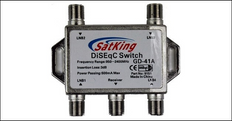 Star 4 way DiSEgC switch