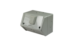 Weatherproof Single GPO IP53 250V 15 Amp
