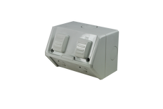 Weatherproof Double GPO IP53 250V 10 Amp