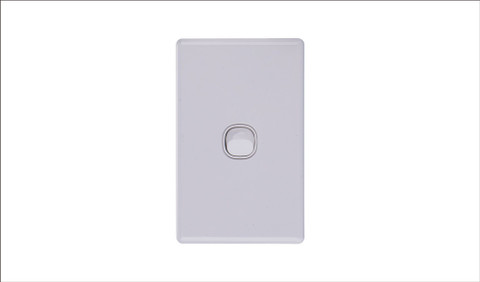 One Gang Two Way Switch 16Amp Vertical 10 PACK