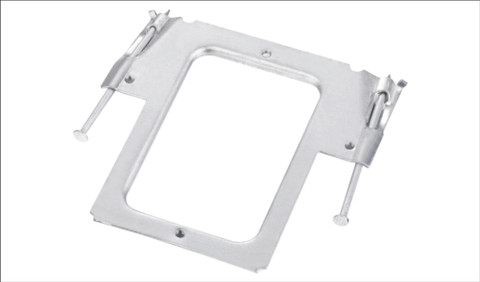Horizontal Mounting Bracket with Nails 1.2mm 25 PACK