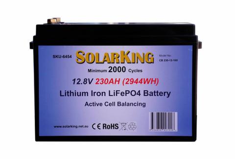 230AH Lithium Iron SolarKing Battery CB-230-12-100