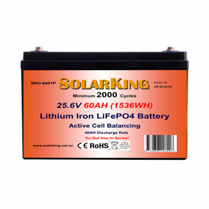 60AH Solarking Lithium Battery CB-60-12-40