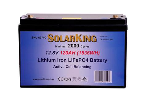 120AH Soalor Lithium Battery CB-120-12-100