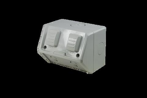Weatherproof Double GPO IP53 250V 15 Amp
