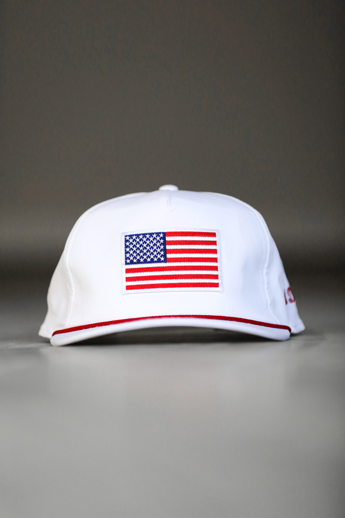 DR. DUCK® AMERICAN FLAG PATCH SNAPBACK HAT