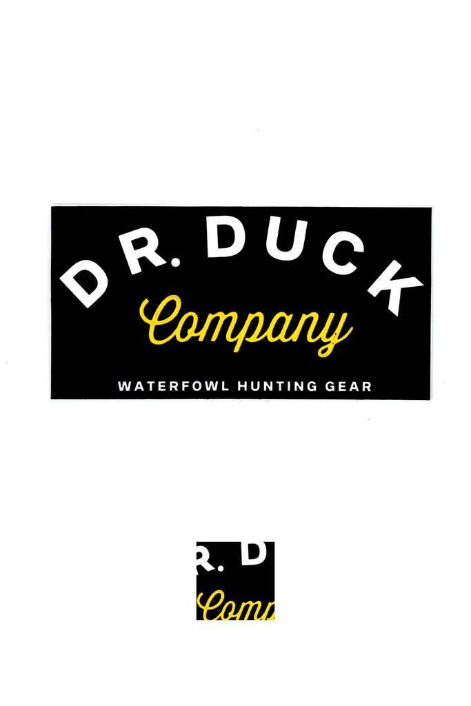 DR. DUCK CO. OLD SCHOOL COMPANY DECAL