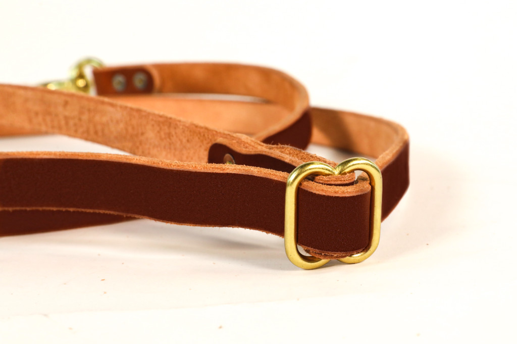 DR. DUCK CO. X HOLDFAST RANGER LEATHER DOG LEASH