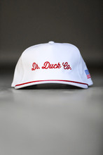 DR. DUCK CO. SMALL FLAG PATCH PATRIOTIC SNAPBACK HAT