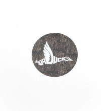 DR. DUCK REALTREE TIMBER CAMO ROUND DECAL