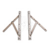"""Truth 14 Series 10"""" Concealed Casement Window Hinges (14.75), Image 2"""