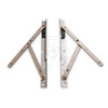 """Truth 14 Series 10"""" Concealed Casement Window Hinges (14.75), Image 1"""