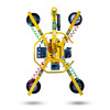 Image of Wood's Powr-Grip MRT411LDC3 (MRT4) Vacuum Lifter with extended arm configuration